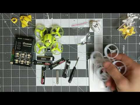Eachine QX65 Unboxing and flight!