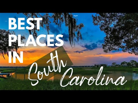 10 Best Travel Destinations in South Carolina USA
