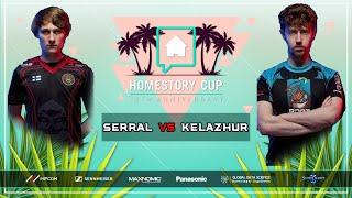 GG's Serral vs Kelazhur Bo2 [ZvT] Homestory Cup XX Starcraft 2