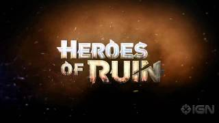 Heroes of Ruin: Teaser Trailer