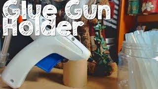 Glue Gun Tips, Holder And Glue Sticks Storage
