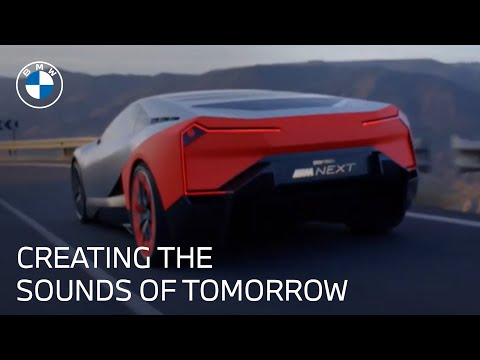 The Future Of Sound Of Electric Vehicles | Vision M Next | BMW USA