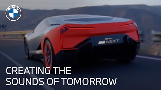 homepage tile video photo for The Future of Sound Of Electric Vehicles | Vision M Next | BMW USA