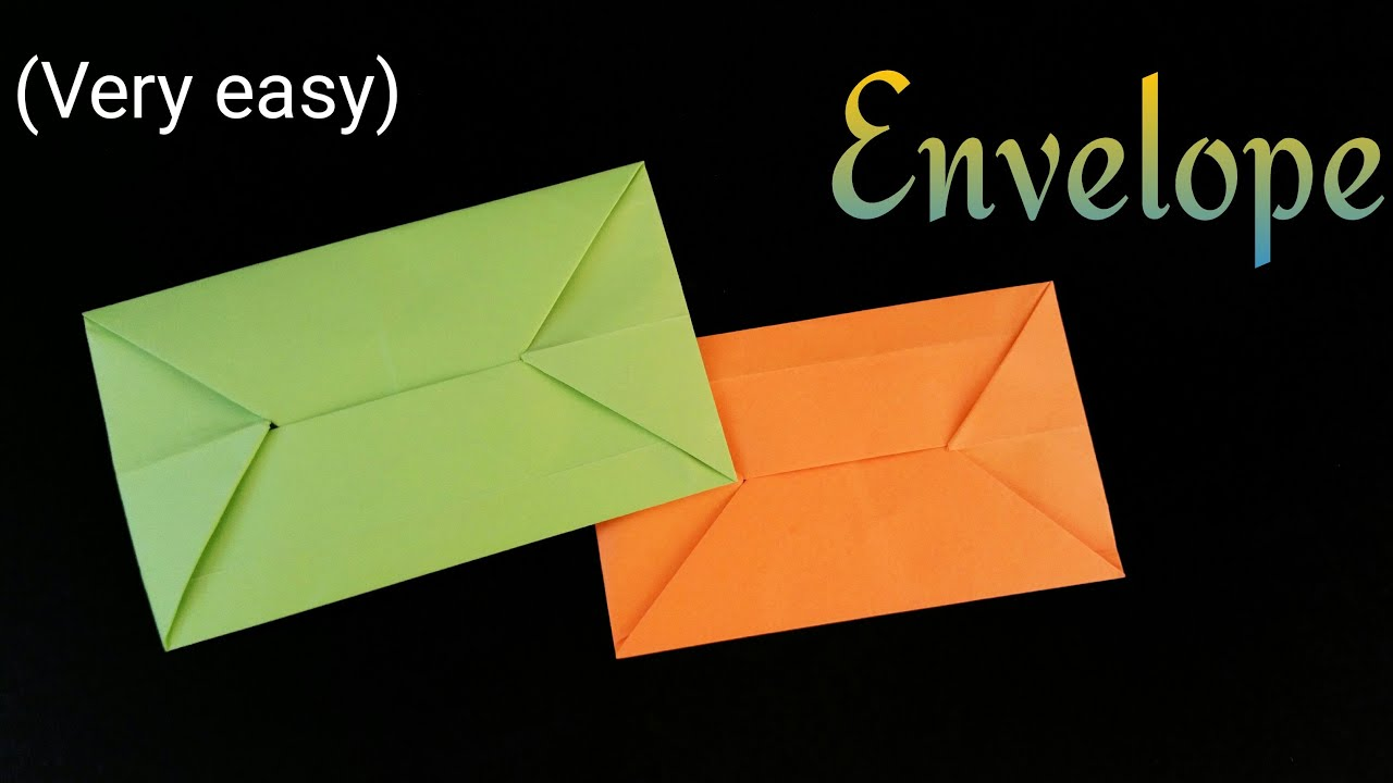 easy envelope diy origami tutorial by paper folds youtube