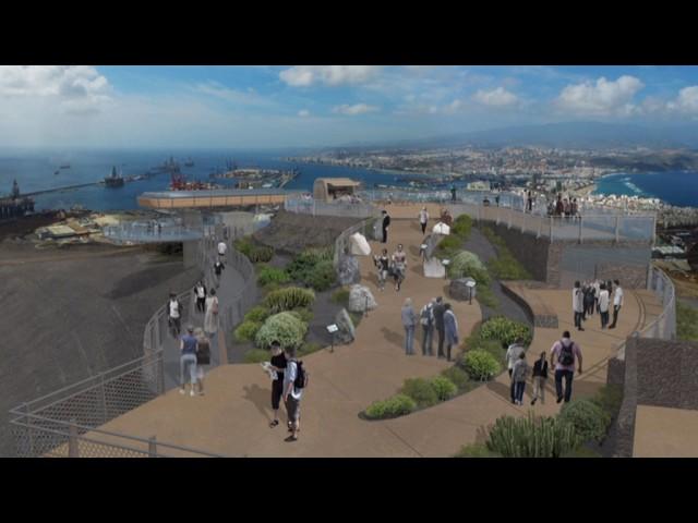 Teleférico de La Isleta. Las Palmas de Gran Canaria