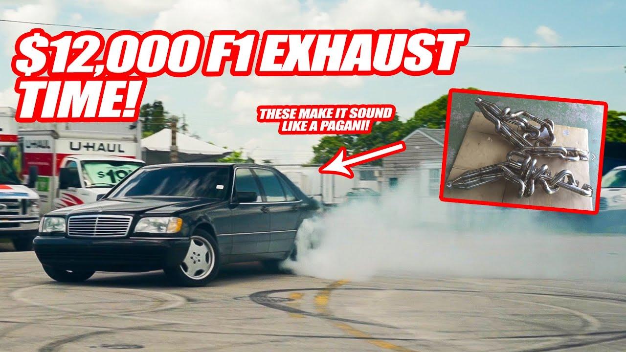 FINALLY PUTTING THE INSANE $12,000 F1 EXHAUST ON MY S600! *MAKES IT SOUND LIKE A PAGANI ZONDA*