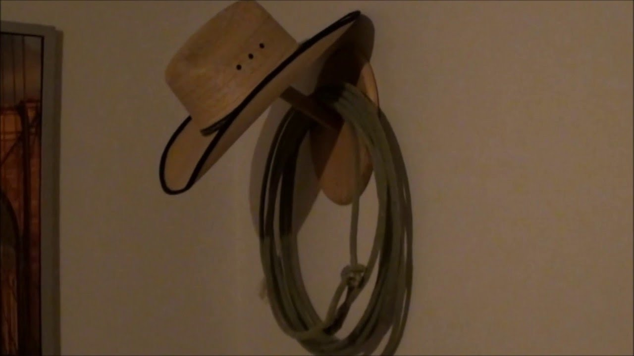 DIY CNC Project - Making a Cowboy Hat Holder - Designed in Fusion ... f68f7e6213c4