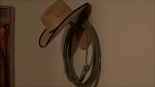 DIY CNC Project - Making a Cowboy Hat Holder - Designed in Fusion 360