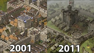 Stronghold HD vs Stronghold 3 Gold