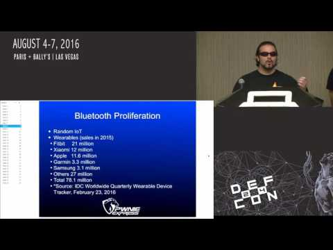 DEF CON 24 - Zero Chaos and Granolocks - Realtime bluetooth device detection Blue Hydra