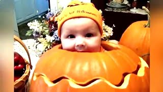 Funny Baby Halloween Fails - Funny Baby Video