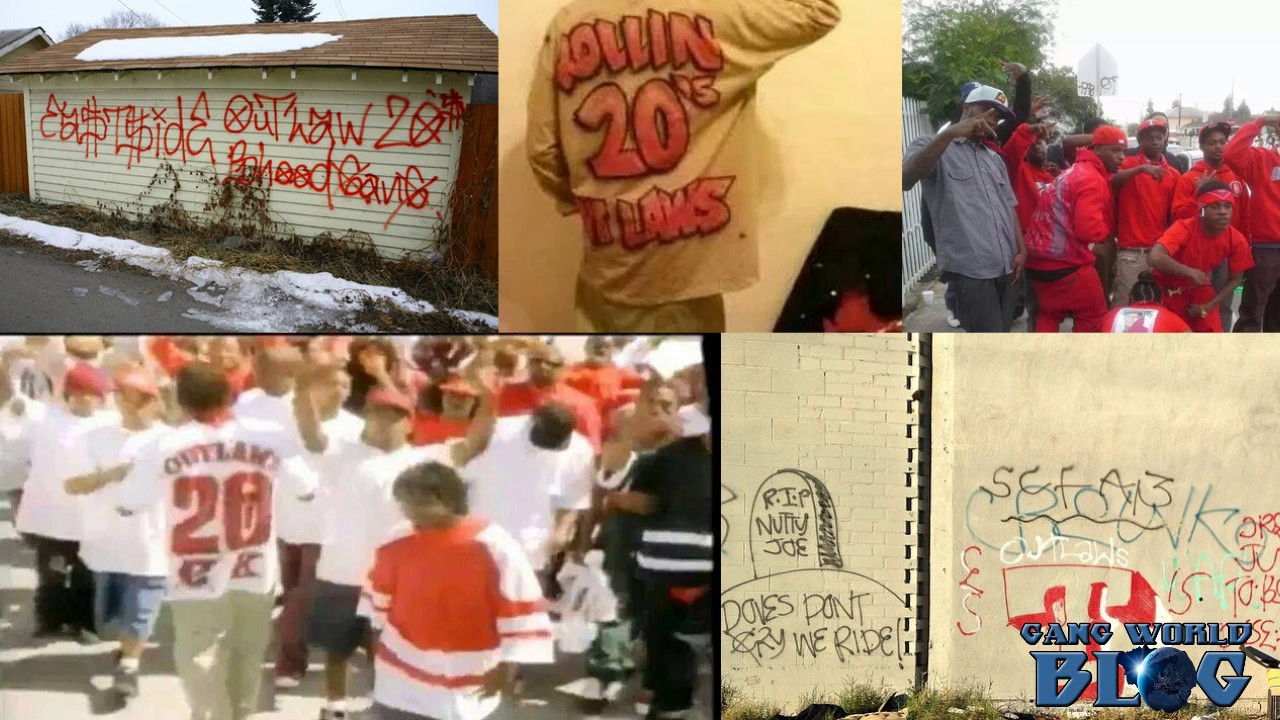 Eastside Rollin 20s Outlaw Bloods Gang History (Los Angeles