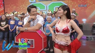 Wowowin: '1,2,3, Girls,' pumick-up lines kay Willie Revillame!