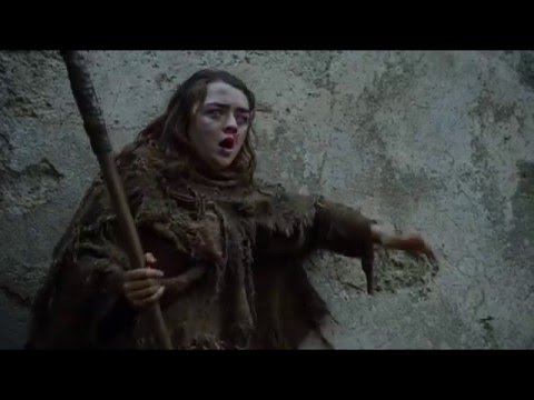Arya Stark: A girl has no name - Game of Thrones (S06E02)