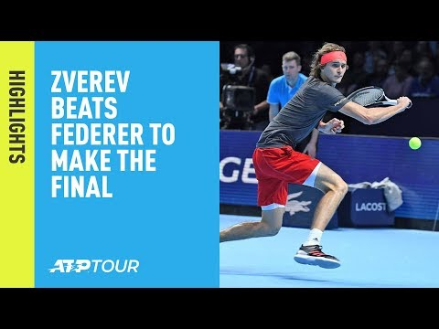 Highlights: Zverev Beats Federer In The 2018 Nitto ATP Finals Semi-finals