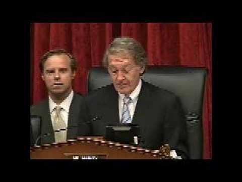 "Congressman Ed Markey opens the ""iPhone Hearing"" (July 11)"