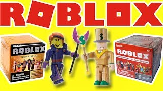 ROBLOX CELEBRITY MYSTERY BOXES - UNBOX & PLAY | Little Kelly & Friends ToysReview for Kids