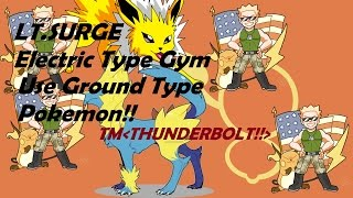 LT. SURGE BATTLE TM_THUNDREBOLT!! ROBLOX:PROJECT POKEMON