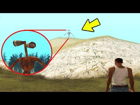 I Found SIREN HEAD in GTA San Andreas!(Secret Mod)  