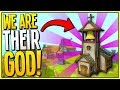 BUILDING AND RULING OVER OUR MEDIEVAL VILLAGE IN VR - Townsmen VR Gameplay - VR HTC Vive