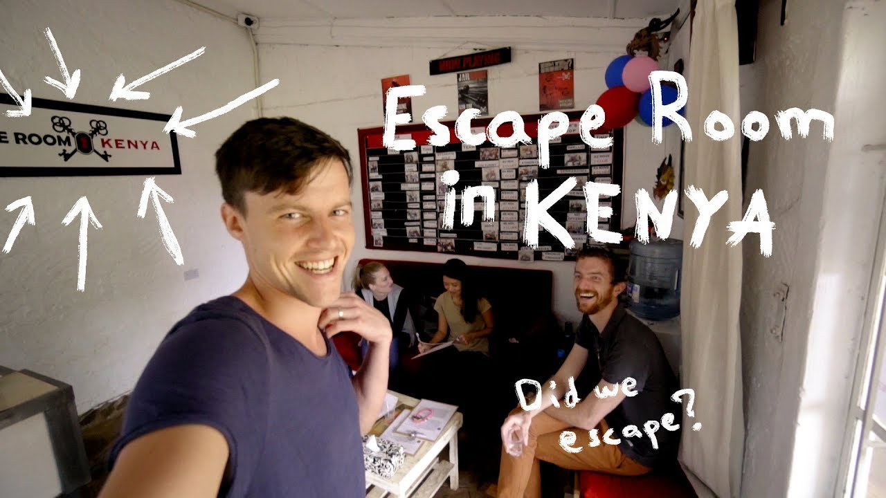Escape Room in Nairobi, Kenya - Impossible to get out