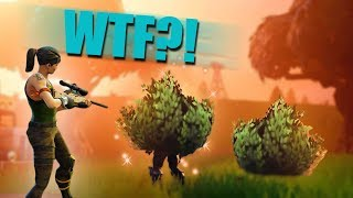 legendary bush trolling new fortnite br update   fortnite battle royale funny moments