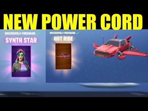 Fortnite Synth STAR Gameplay & Hot Rod INSANE NEW GLIDER (Item Shop 9-15-18)