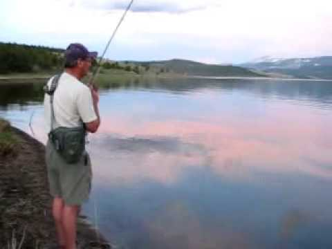 Fly Fishing For Georgetown Lake Rainbow