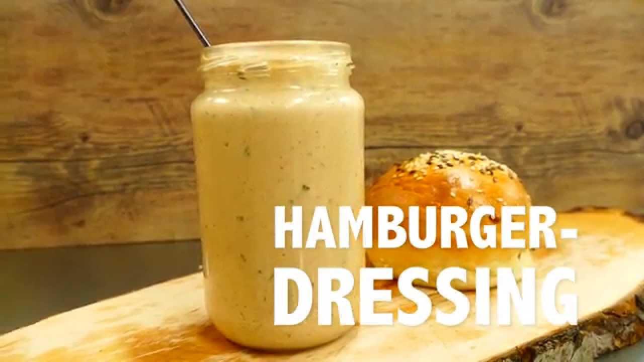 världens bästa hamburgerdressing