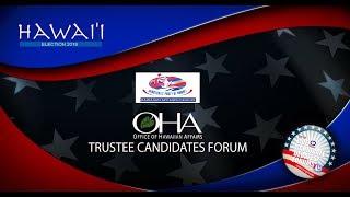 OHA Candidate Forum