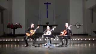 BerlinGuitarTrio - Praeludium und Fuge G-Moll BWV 861 by J.S.Bach