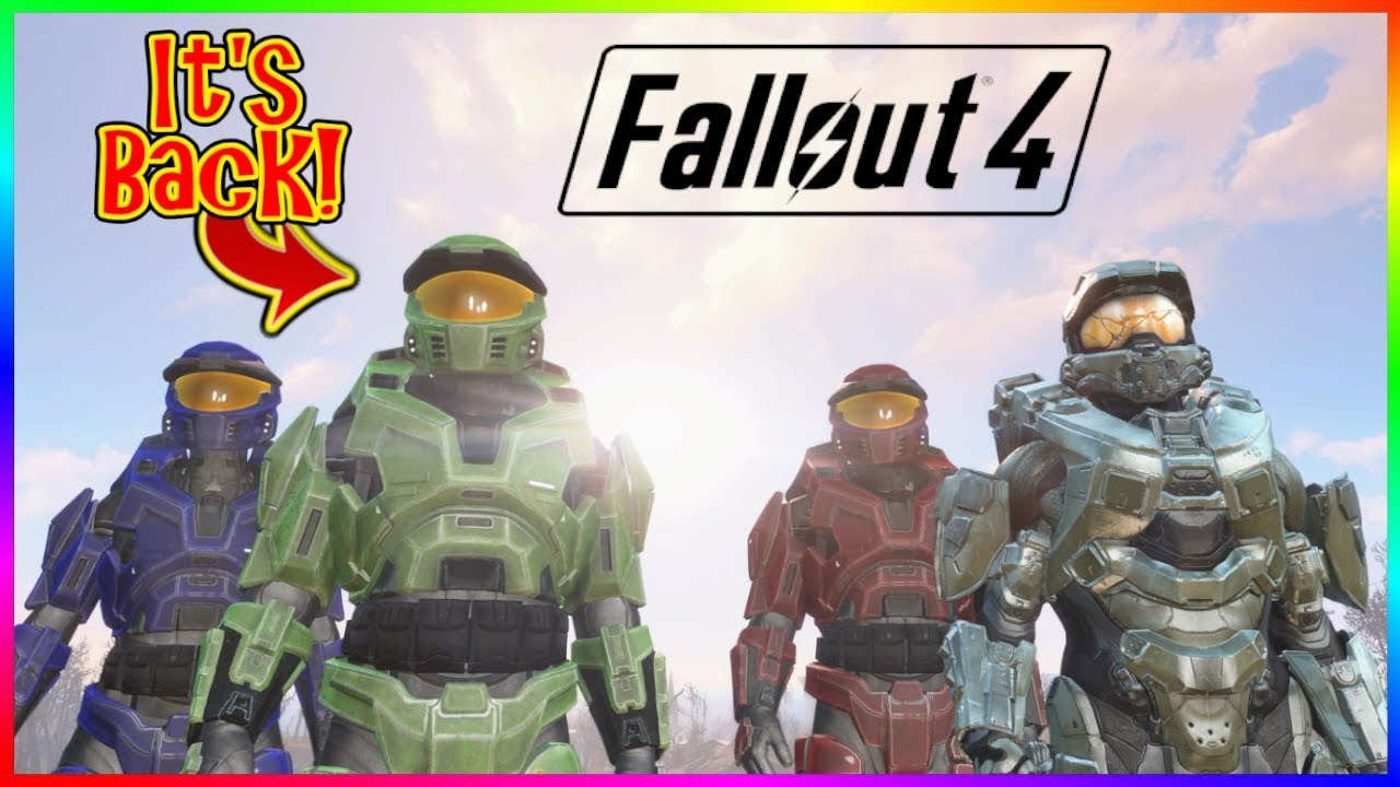 Fallout 4: Halo CE Mod- Master Chief Armor and Weapons (Xbox One/PC)