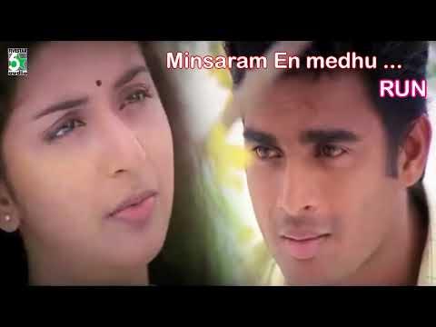Minsaram En Meethu Songs | Run | R.Madhavan | Meera Jasmine