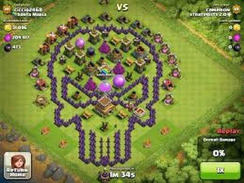 Clash Of Clan Base Trade
