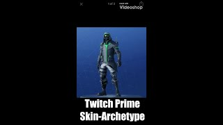 FORTNITE SEASON 5 TWITCH PRIME SKIN LEAKED!!! ARCHETYPE