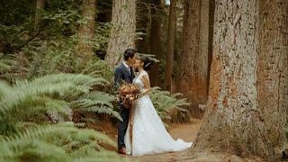 Redwoods Wedding in Portland, Oregon