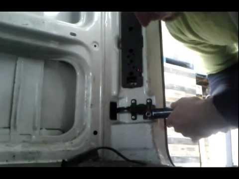 FIX Mercedes Sprinter Van door - YouTube
