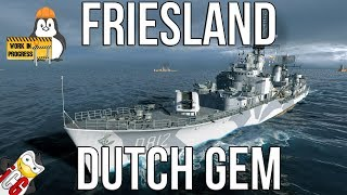 World of Warships - Friesland WiP - Potential DUTCH Gem
