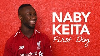 Exclusive: Naby Keita's First Day | Behind The Scenes