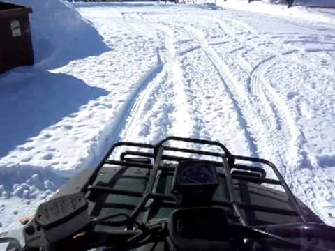 2000 Arctic Cat 300 4x4.