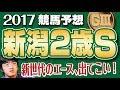 【競馬予想】 2017 新潟2歳S 新世代のエース、出てこい!