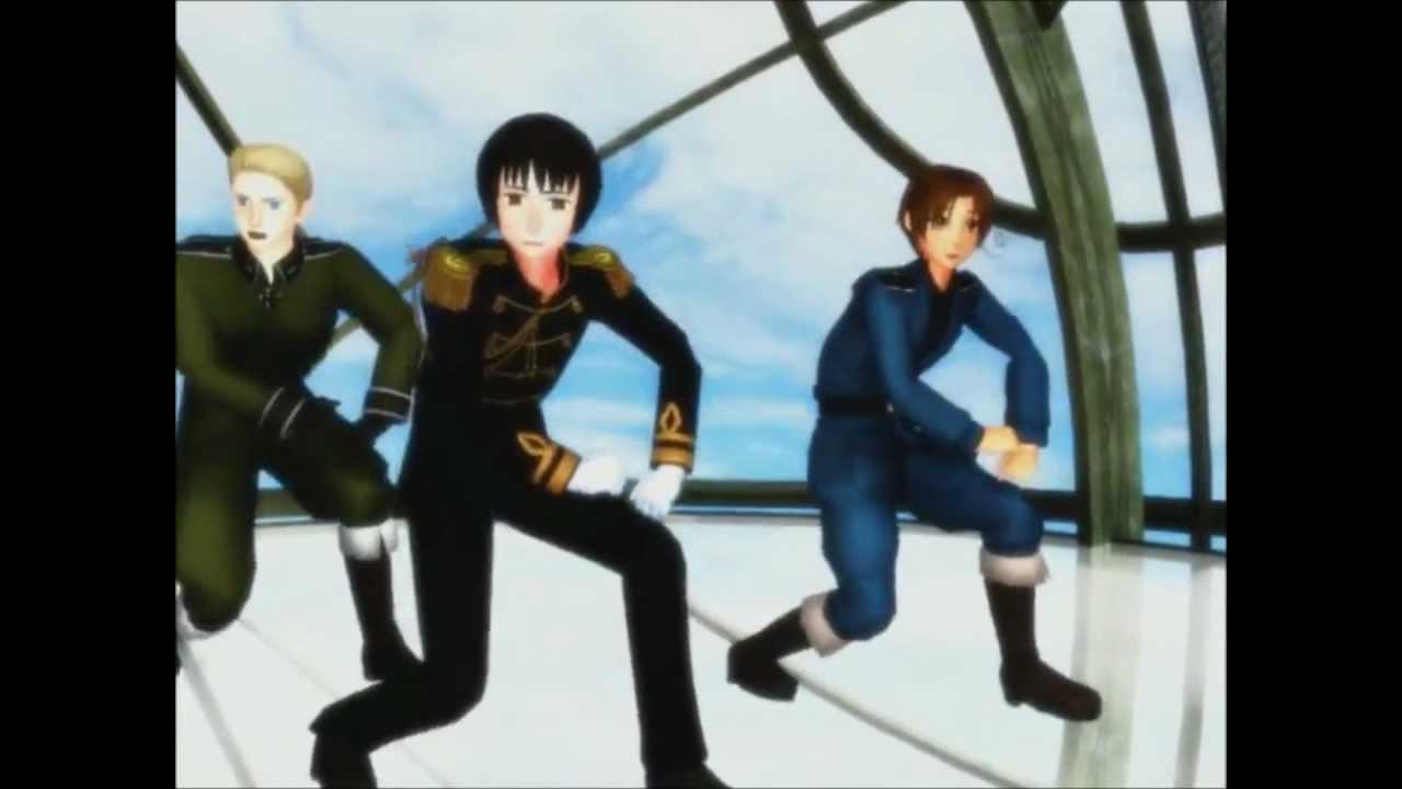 Gangnam Style Hetalia