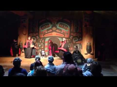 Tlingit Song & Dance I - Saxman Native Village Ketchikan Alaska August 2014