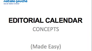 [Download] How To (Easily) Create an Editorial Calendar for Social Media