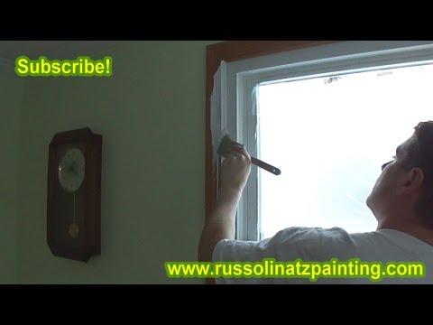 how to paint over varnished wood trim part 1 youtube. Black Bedroom Furniture Sets. Home Design Ideas