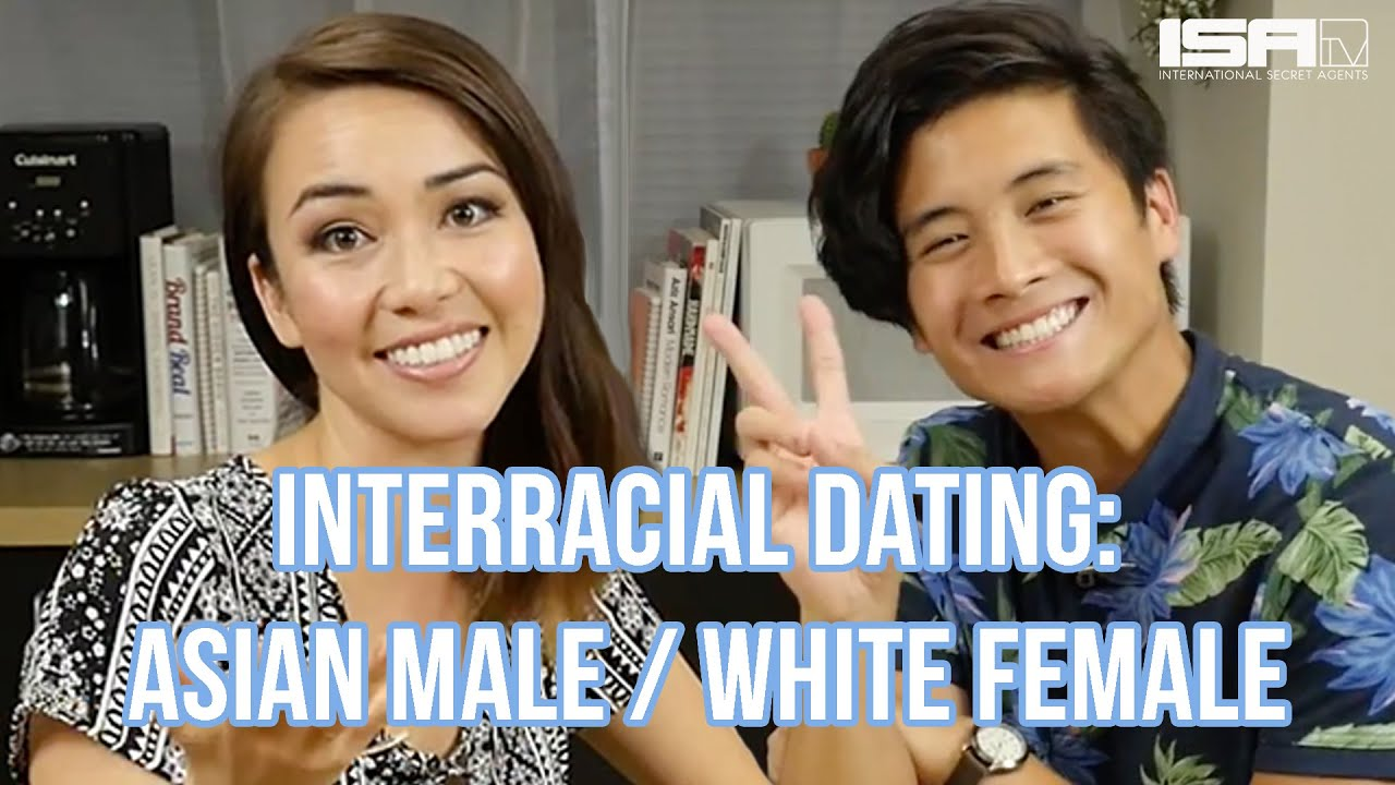 White asian couples