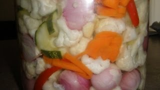 How to make Pickled Vegetables