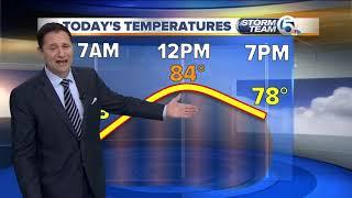 South Florida Monday morning forecast (10/22/18)