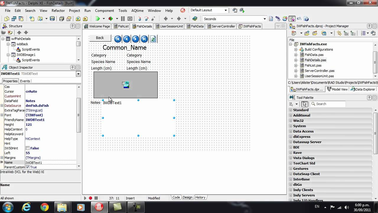 Delphi Programming Tutorial #62 - Intro to IntraWeb - YouTube