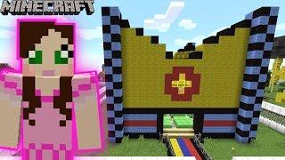 Minecraft: THE SECRET BOUNCY HOUSE - MINE PARK - Custom Map [3]